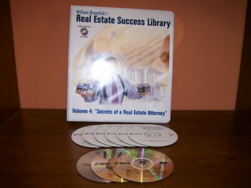 William Bronchick Secrets of a Real Estate Attorney Lawyer CD Real Estate Course