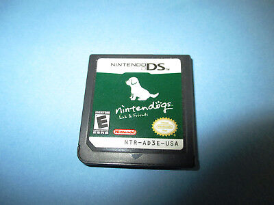 Nintendogs: Lab & Friends ((Nintendo DS) Lite DSi XL 3DS 2DS Game