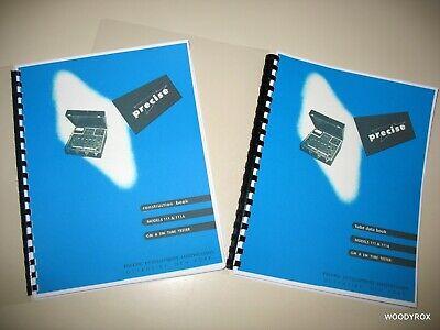 Precise 111 111a 111m Tube Tester Choose Manual Or Tube Data Or Both Big Books