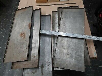 Letterpress Galleys For Storage Of Metal Type Plates Printing