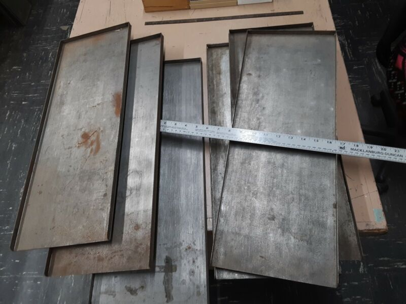 Letterpress Galleys for storage of metal type, plates, printing