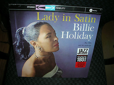 BILLIE HOLIDAY **LADY IN SATIN **BRAND NEW 180 GRAM RECORD LP - Ladies In Satin