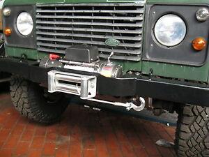 Windenstoßstange + Seilwinde 5,9 t für Land Rover Defender ohne Klima