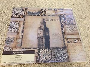 London scrapbook album