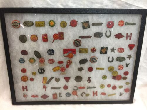 Lot of 95 Antique Tobacco Tags