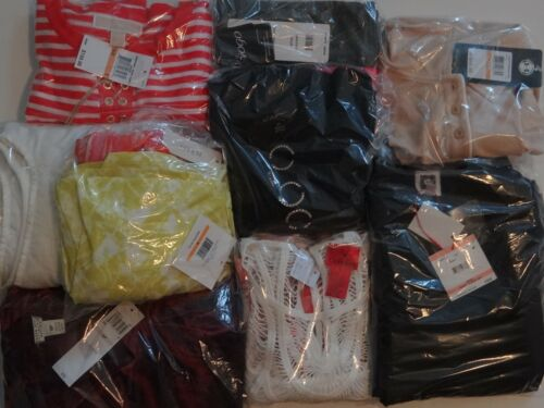 Womens mixed clothing reseller box lot wholesale retail value $250 min New