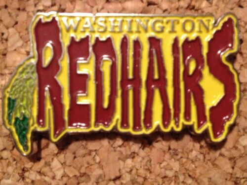 Grassroots California Coloado Chicago GRC Washington Redhairs Redskins hat pin