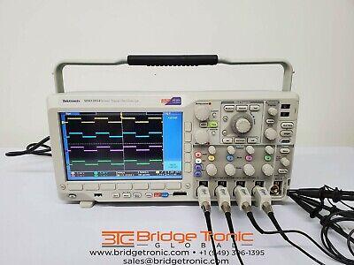 Tektronix Mso3054 Mixed Signal Oscilloscope 500 Mhz 2.5 Gss
