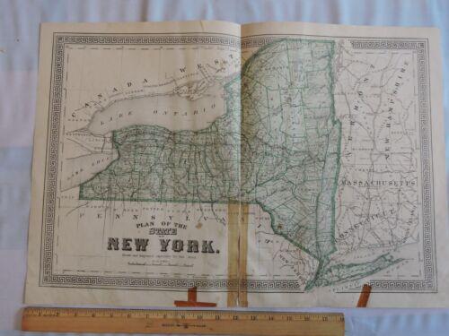ORIG 1875 LONG ISLAND NEW YORK NY 17X28 BEERS MAP