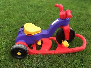3 in 1 child's tricycle