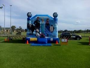 Jumping castle for hire Frozen combo