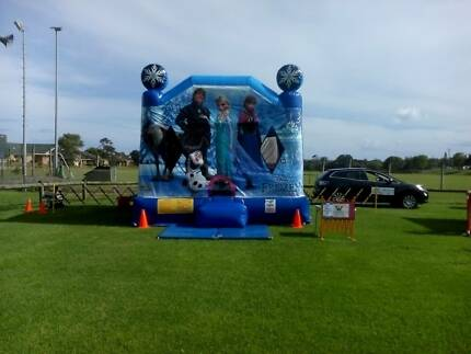 Jumping castle for hire Frozen combo Mermaid Waters Gold Coast City Preview