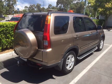 2002 Honda CR-V RD 4WD BRONZ 4 SPEED Automatic $8,000 Burleigh Heads Gold Coast South Preview