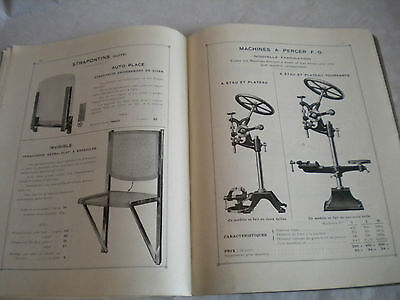 Vintage French Trade Catalogue Brochure 1950s ETFHardware 48 pages