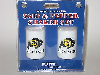Colorado Buffaloes Ceramic Salt & Pepper Shaker Set With Team Logo Logo Shaker Set
