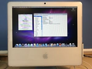 """Classic iMac Core 2 Duo 17"""" 2006 - Works Great"""