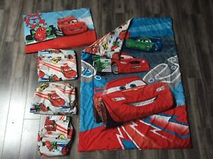 Disney Cars toddler bedding and accessories for sale!!