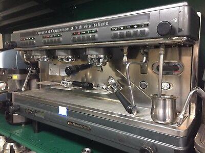 La Cimbali M32 Dosatron 3 Group Espresso Machine Semi Automatic