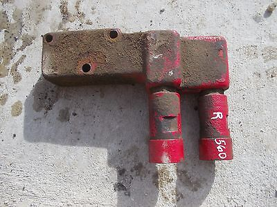 Farmall 460 560 Tractor Ih Hydraulic Control Valve Side Block Outlet Ports Qu