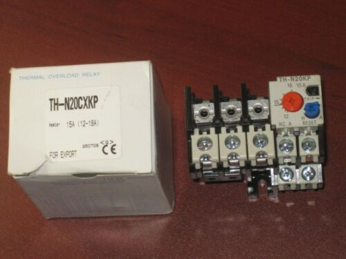 MITSUBISHI ELECTRIC TH-N20CXKP THERMAL OVERLOAD RELAY 15A (12-18A)