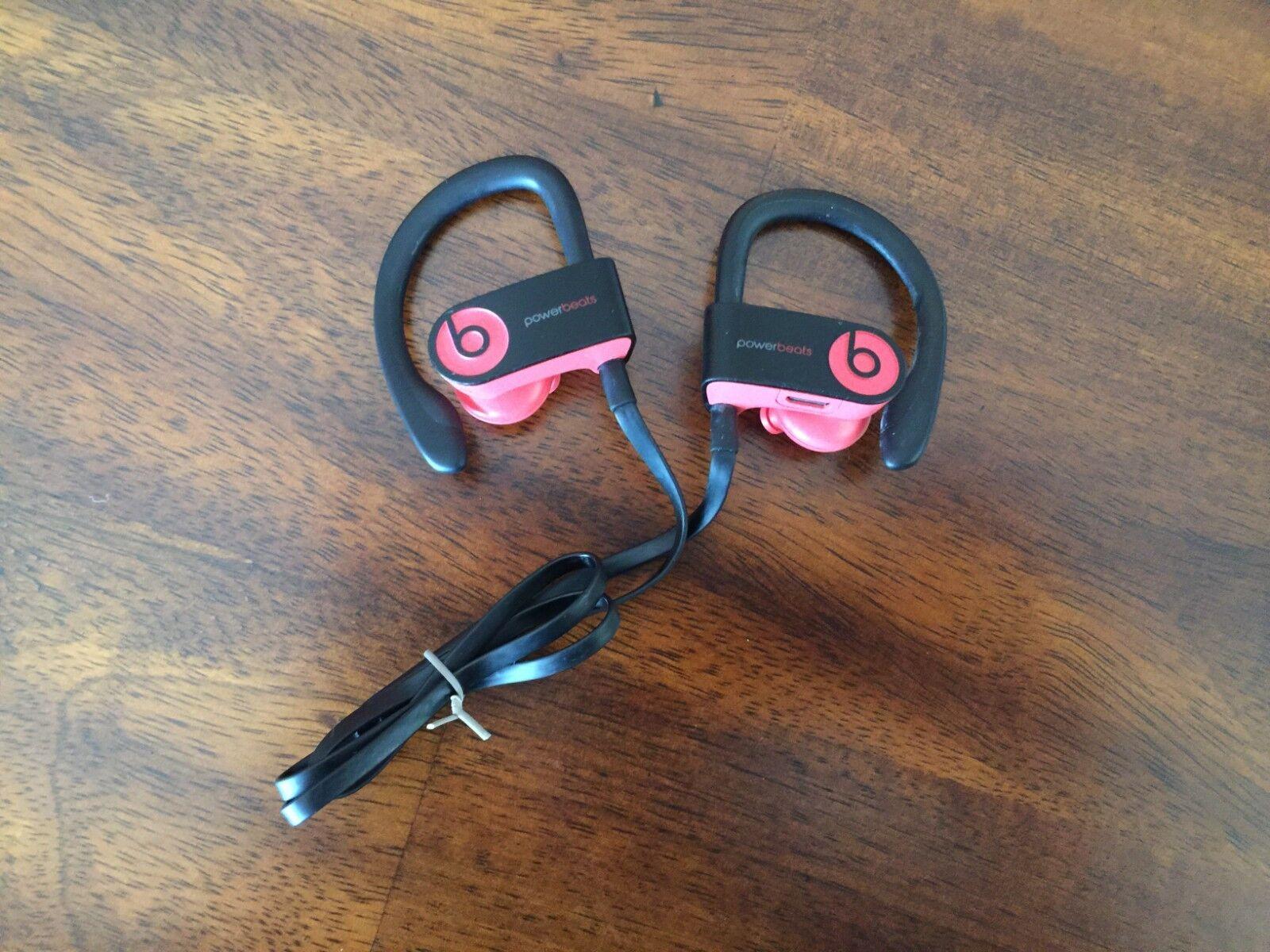 Beats by Dr. Dre Powerbeats3 Wireless Ear-Hook Headphones - Siren Red GENUINE