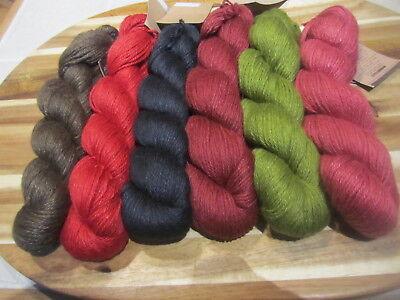 Aslan Trends King Baby Llama   Mulberry Silk Yarn   Choose From 6 Colors