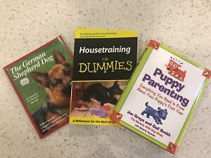 Puppy parenting, house training books