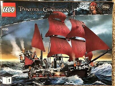 LEGO Pirates of the Caribbean Queen Anne's Revenge 4195 Pre-owned