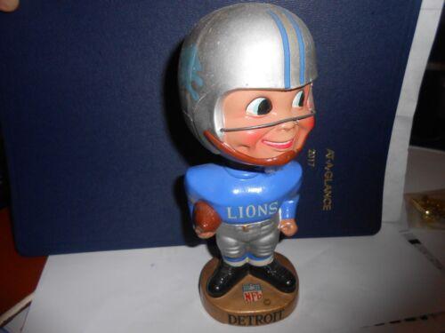 Vintage 1960's Detroit Lions  Football  Bobble Head Collectible