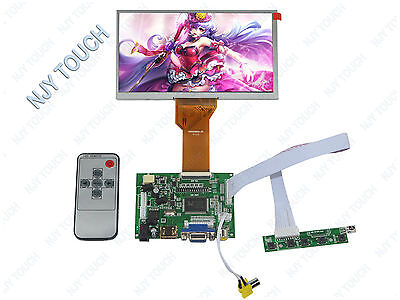 HDMI VGA AV LCD Controller Board DIY Kit  Plus 7inch TFT AT070TN92 800x480 50Pin