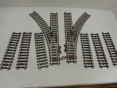 Original American Flyer S Gauge Pike Master Tracks and Switches