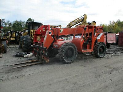 2001 Skytrak 8042 Telehandler Forklift Cummins 8000 Lb Telescopic Jlg
