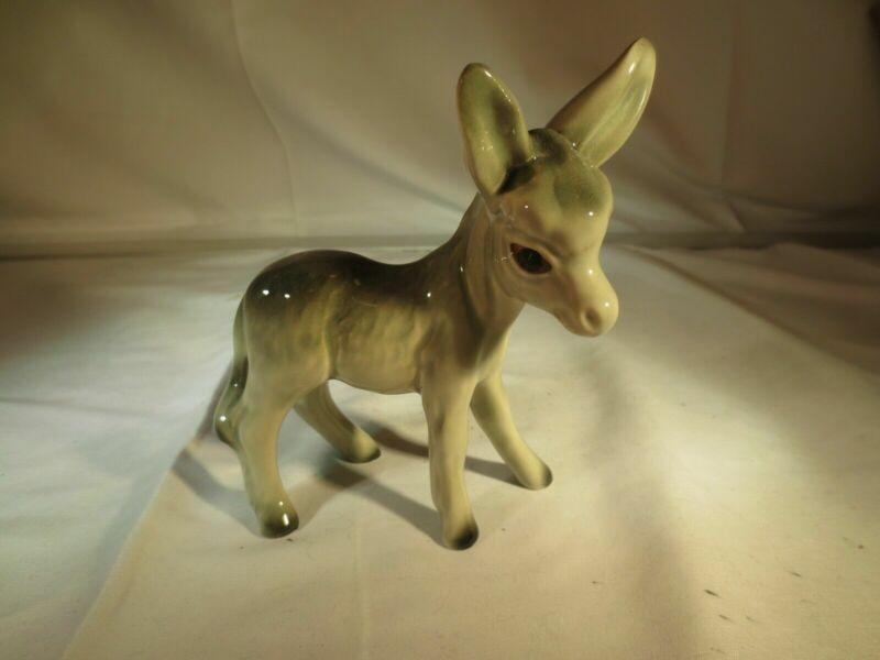England Glossy Porcelain  Donkey