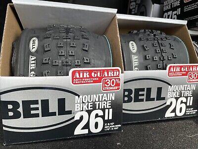"Bell Cruiser Glide Bike Tire Whitewall 26/"" New in Box  Air Guard Anti Puncture"