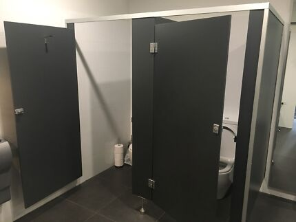 Toilet cubicles adjoined $300