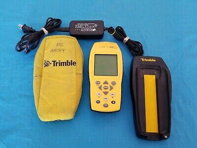 Trimble Geoexplorer 3 Gps Data Collector Wcharger - Very Nice