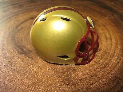 Boston College Football Helmet ((1) Riddell Pocket Pro Football Helmet (Boston College Eagles))