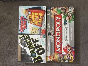 Monopoly Nintendo edition, Yahtzee muppets edition plus more!!!