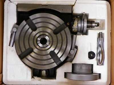 6 Precision Rotary Table Ert-hv6 Horizontal Vertical Tb110