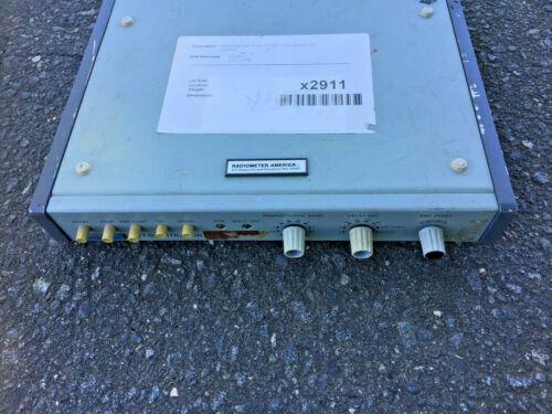 radiometer copenhagen TTT80 Titrator For Parts Or Repair No Power adapter