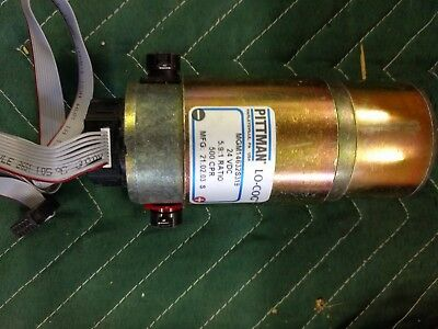 Pittman Gear Motor With Encoder Mgm14632s319 24vdc 5.91 Ratio 500 Cpr New