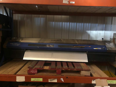 Roland Xc-540 Soljet Pro Iii Large Format Printer 54 Wide 12 Heads - As-is