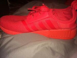 Adidas NMD Triple Solar Red US 9.5 Melbourne CBD Melbourne City Preview
