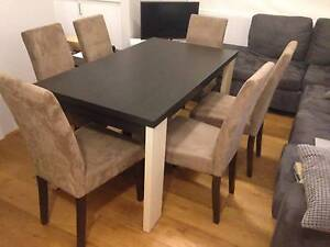 Dining Table + 6 x Chairs Glebe Inner Sydney Preview