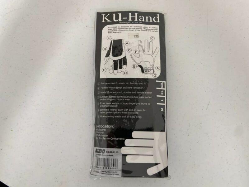 Kupo Ku-Hand Gloves Goat Size Large Black