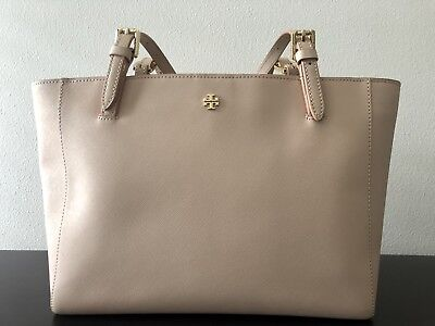 Tory Burch Women's York Small Buckle Tote Brand New With Tag