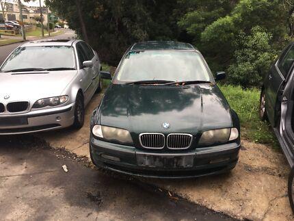 BMW E46 323i AUTO 1997 sedan now wrecking entire car!! Northmead Parramatta Area Preview