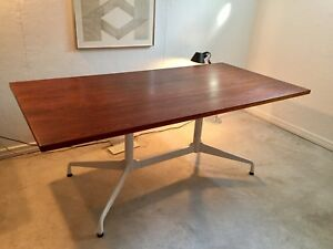 Grande table de travail Herman Miller