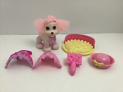 Fisher Price Snap N Style Doll Poodle Pet Toy Dresses Accessories 2008