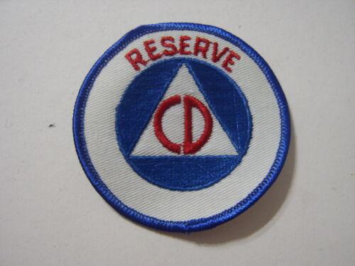 CIVIL DEFENSE PATCH - RESERVE  NOS :KY21-1